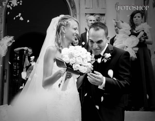 Una boda desde las almenas