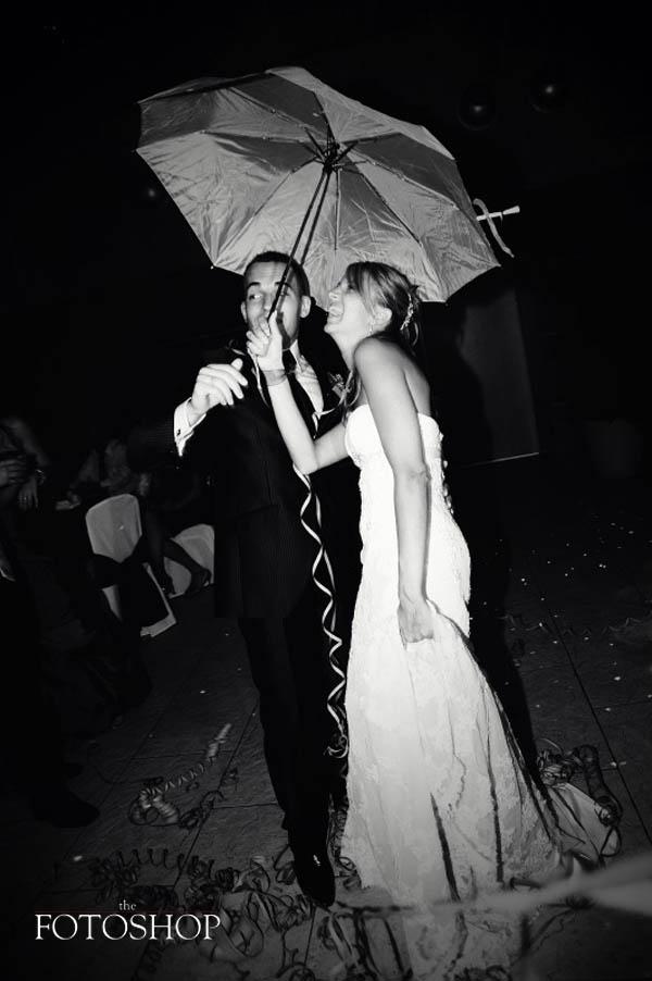 La iluminación de una boda de invierno es muy importante para dar calidez